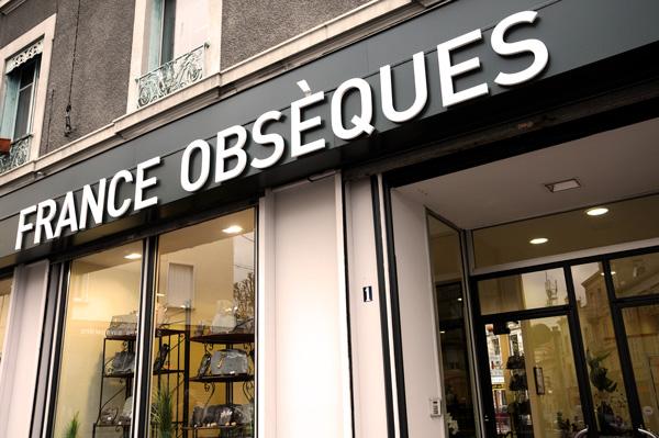 nos agences  France Obsèques